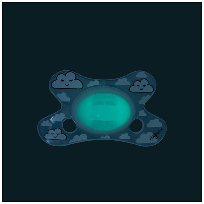 Difrax fopspeen glow in the dark 0-6 maanden - Geen Kleurcode