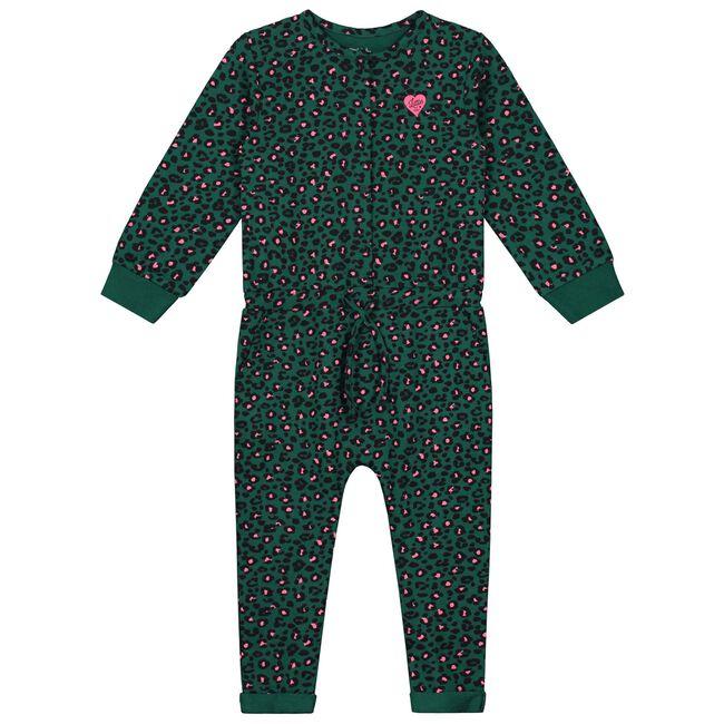 Prénatal peuter meisjes jumpsuit - Darkgreen