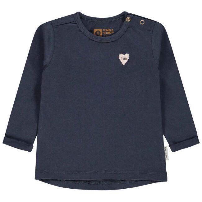 Tumble 'N Dry baby meisjes t-shirt - Dark Blue