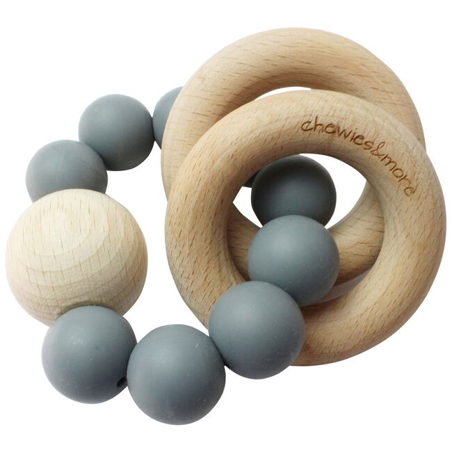 Chewies & more chewie rattle rammelaar - Light Blue