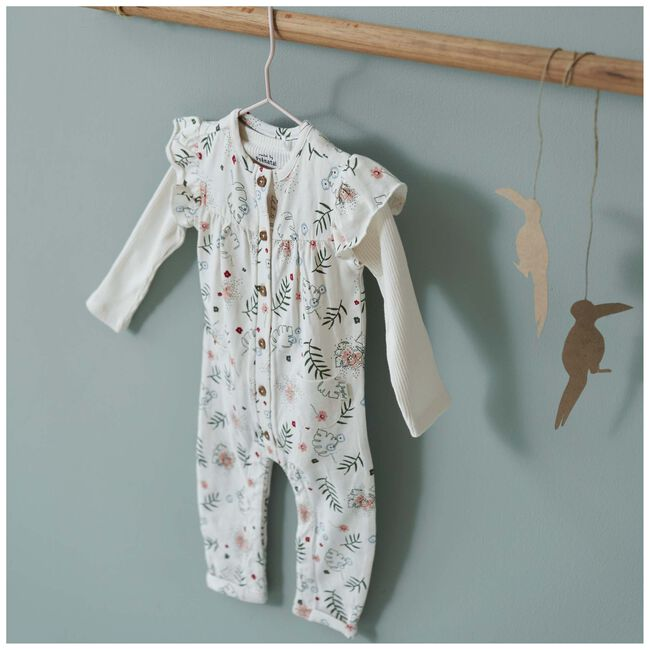 Prénatal newborn meisjes 1-delig pakje - Dark Off-White