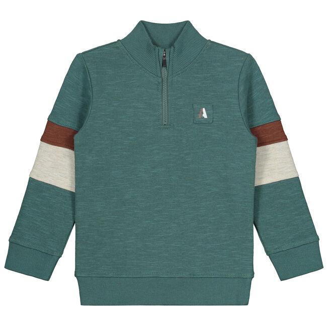 Prénatal peuter jongens sweater - Green Blue