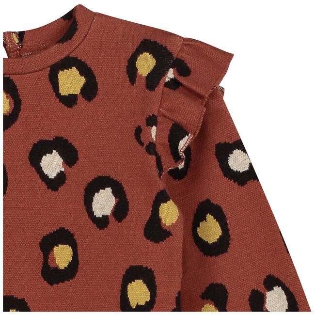 Prénatal baby meisjes trui - Red Brown