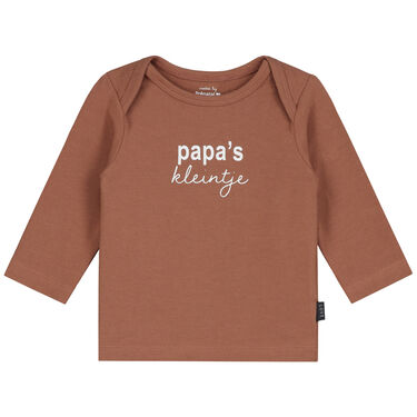 Prénatal newborn shirt papa's kleintje -