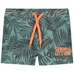 Prénatal jongens zwemboxer - Green Shade