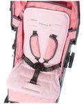 Prénatal buggy/autostoel inlay - Light Pink