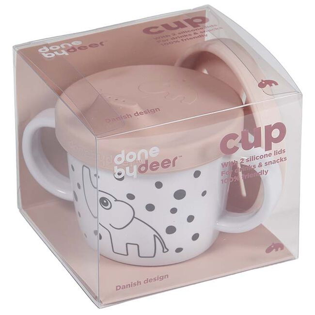 Done By Deer Tuit/snack cup - Powder Pink