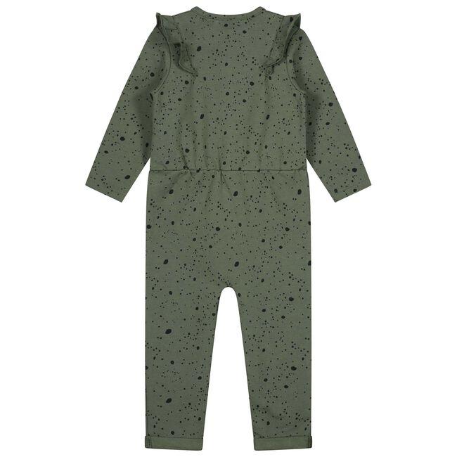 Prenatal baby meisjes jumpsuit - Olivegreen