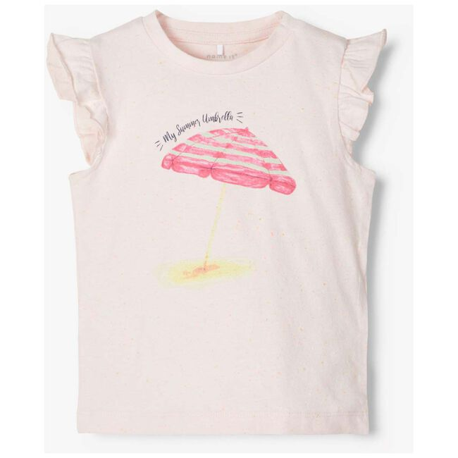 Name it baby meisjes T-shirt - Light Pink