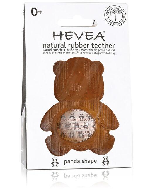 Hevea bijtring panda 0+ maanden - 100% natuurlijk rubber - Geen Kleurcode