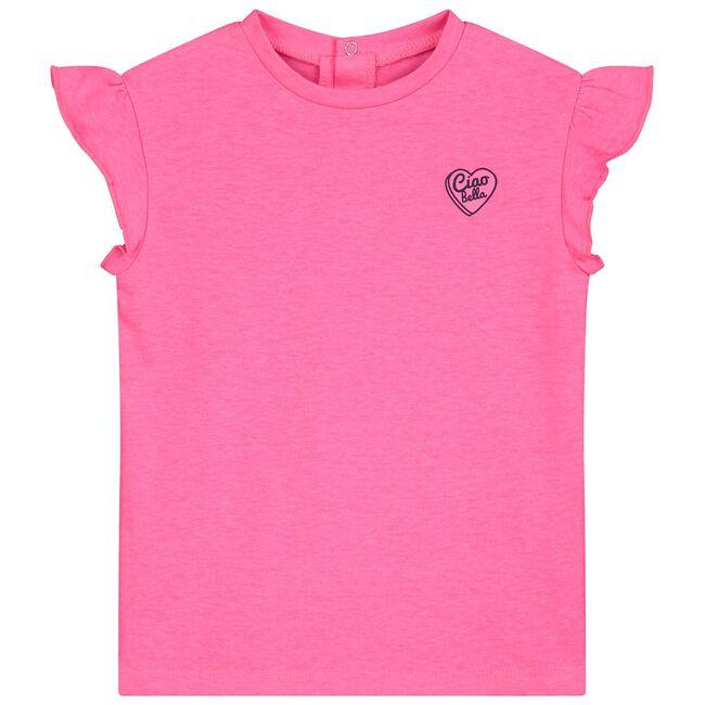 Prénatal peuter meisjes T-shirt - Neon Pink