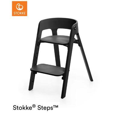 Stokke Steps kinderstoel bundel - Black