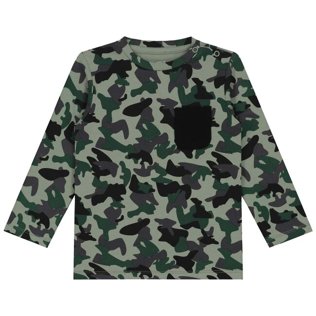 Prénatal peuter jongens t-shirt - Light Springgreen