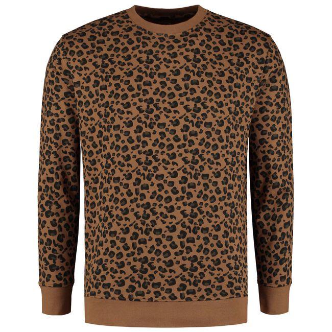 Prénatal volwassen unisex sweater - Chocolatbrown