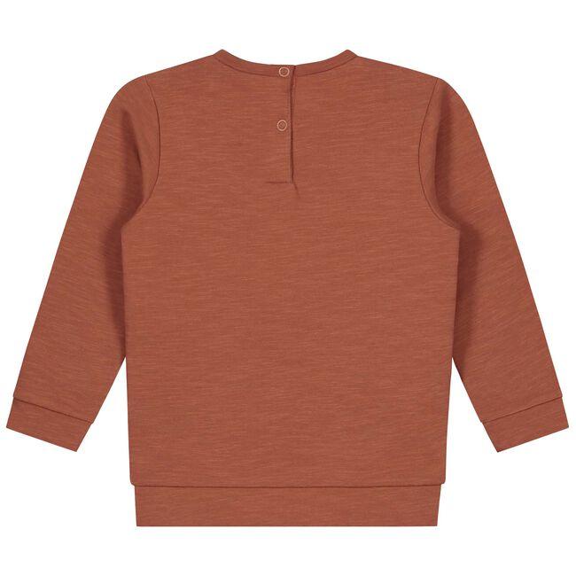 Prénatal peuter meisjes sweater - Deep Orange