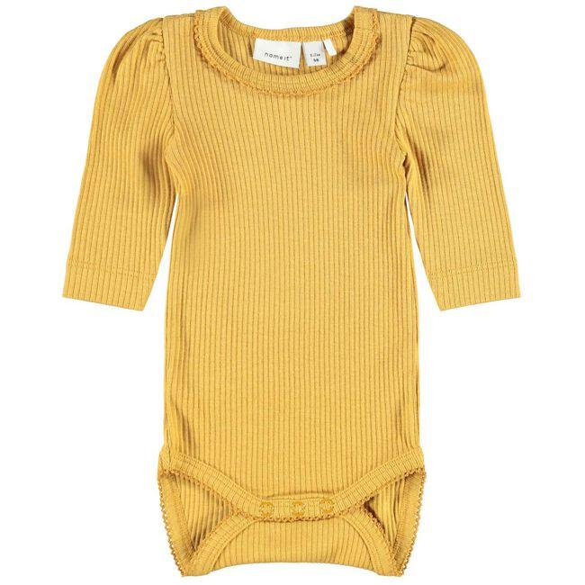 Name it meisjes body - Yellow