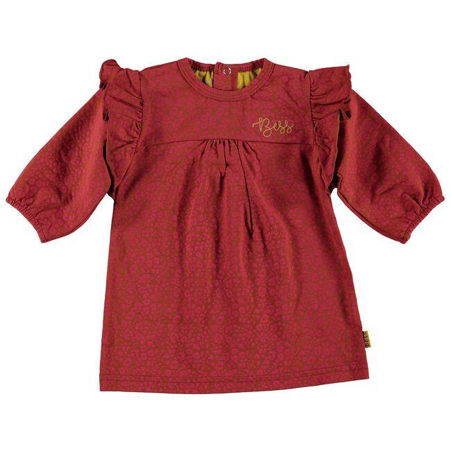 Bess meisjes jurk - Coralred