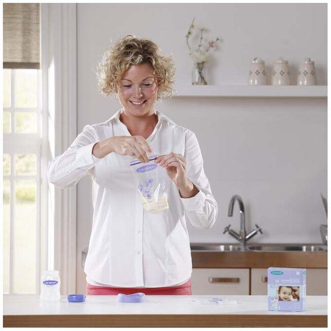 Lansinoh moedermelk bewaarzakjes 180ml - 25 stuks - Multi