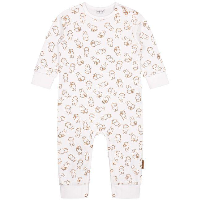 Prenatal Nijntje unisex pyjama - Ivoor Wit