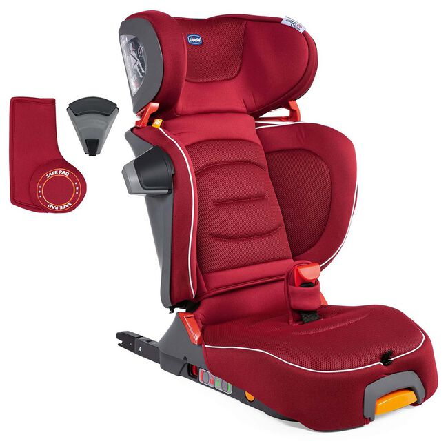 Chicco Fold&Go i-Size autostoel - Darkred