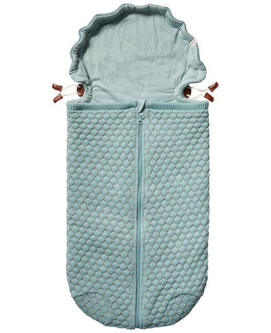 Joolz Essentials Nest Honeycomb voetenzak - Mintgreen