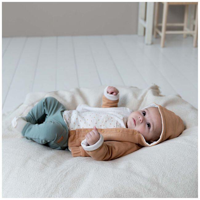 Prenatal newborn unisex jasje - Lightbrown