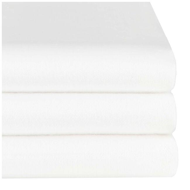 Prénatal molton onderlegger 3 stuks - White