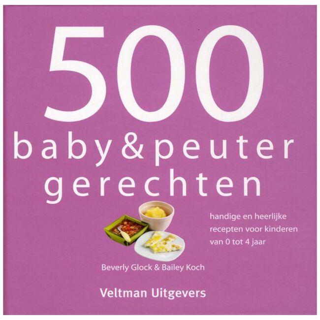 500 baby & peuter gerechten - Multi
