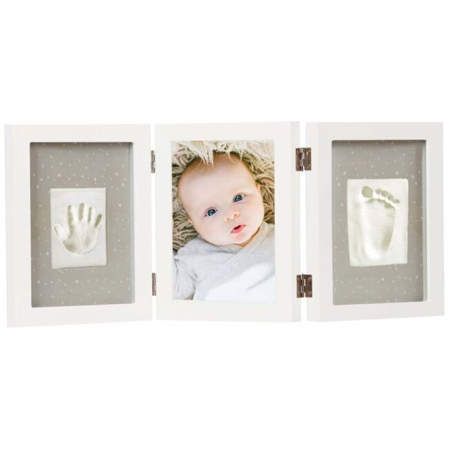 Happy Hands Triple Frame - White