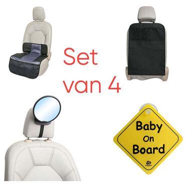 A3 auto accessoires set - combo car set - Black