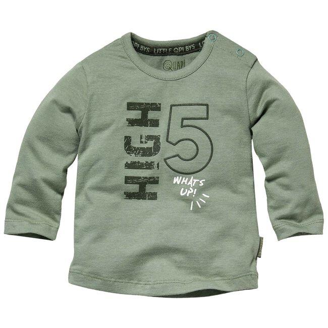 Quapi baby jongens t-shirt - Darkgreen