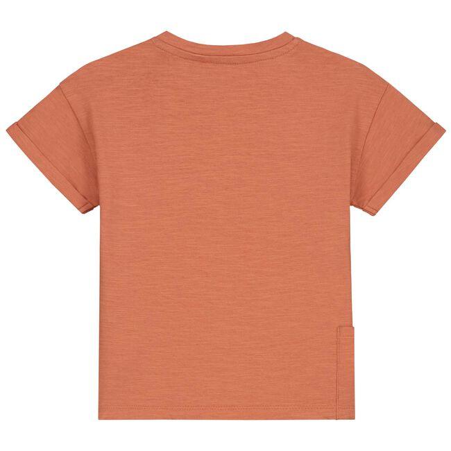Prénatal baby T-shirt - Warm Orange