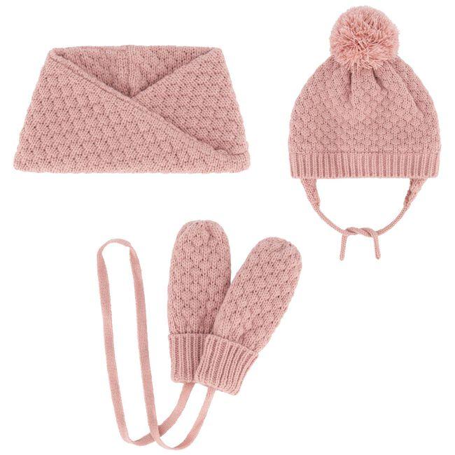 Prénatal baby meisjes wanten - Violet Pink