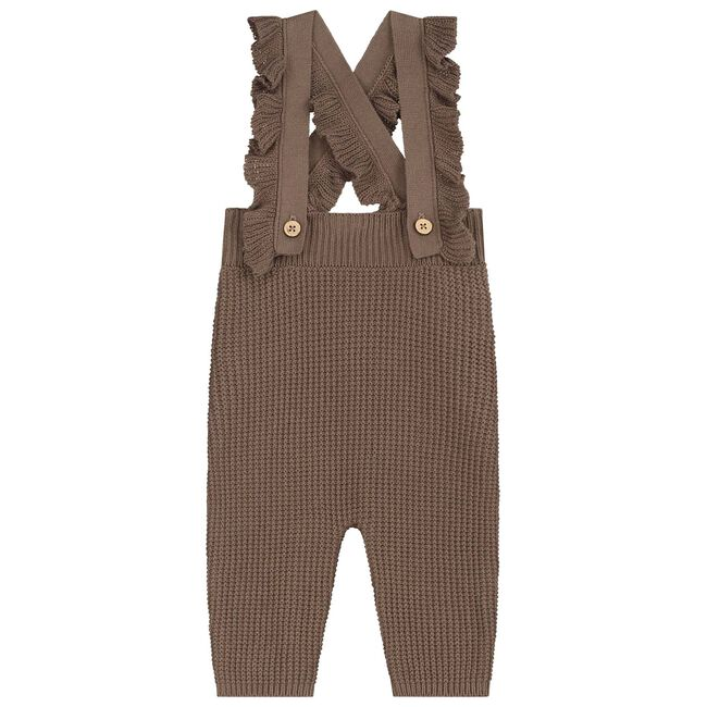 Sweet petit baby broekje Yael - Dark Taupe Brown