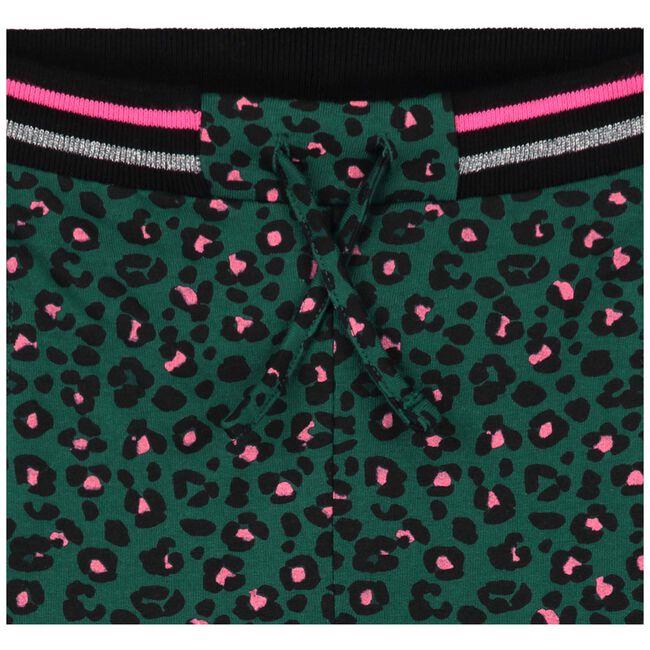 Prénatal peuter meisjes broek - Darkgreen