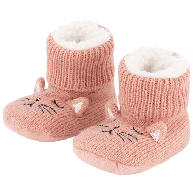 Prenatal baby meisjes sloffen - Pink