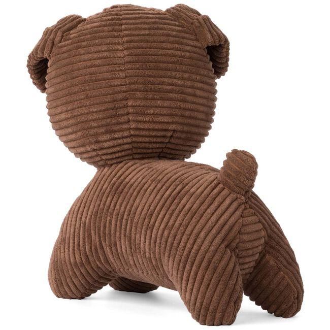 Snuffy knuffel corduroy 30cm - Brown