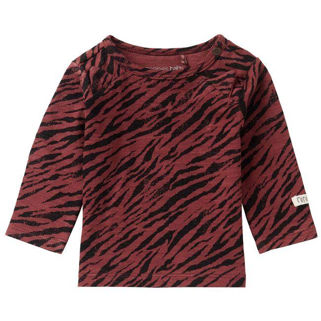 Noppies unisex t-shirt - Plum