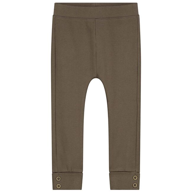 Sweet Petit peuter unisex legging Joss - Dark Taupe Brown