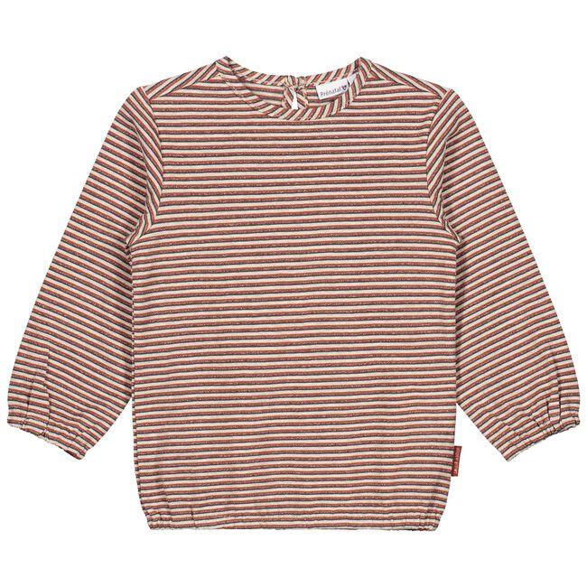 Prénatal peuter meisjes T-shirt - Dark Orange Brown