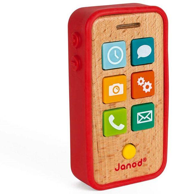 Janod telefoon met geluid - Multi