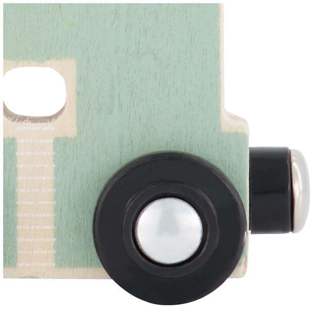 Prénatal houten namentrein letter H - Mintgreen