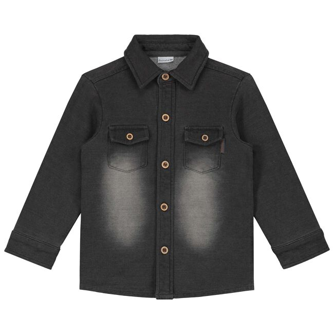 Prenatal peuter jongens blouse - Stonegrey