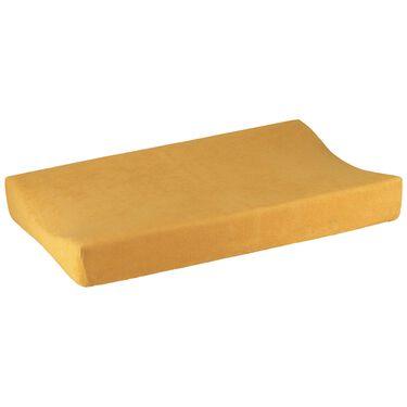 Prénatal aankleedkussenhoes - Light Yellow Brown