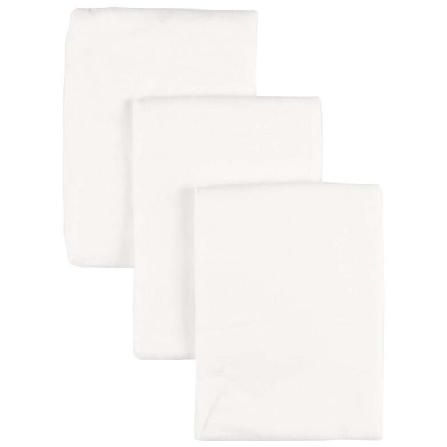 Prénatal flanellen luier 3 stuks - White