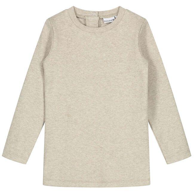 Prénatal peuter meisjes T-shirt - Soft Brown Melange