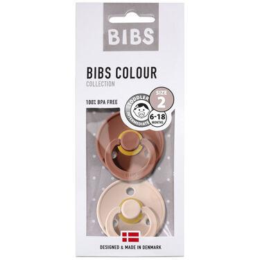Bibs fopspeentje Size 2 - Woodchuck/ Blush