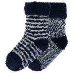 Prénatal peuter jongens antislip sokken 2 stuks - Dark Blue