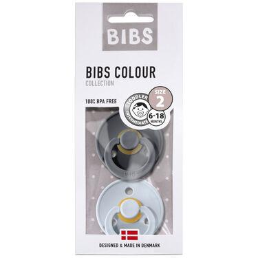 Bibs fopspeentje Size 2 - Irone/ Baby Blue