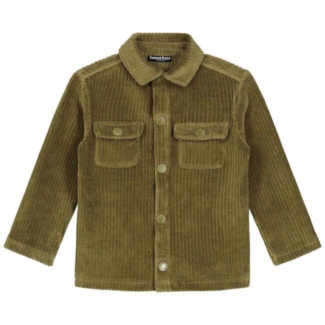 Sweet Petit peuter jongens blouse Morris - Dark Olive Green